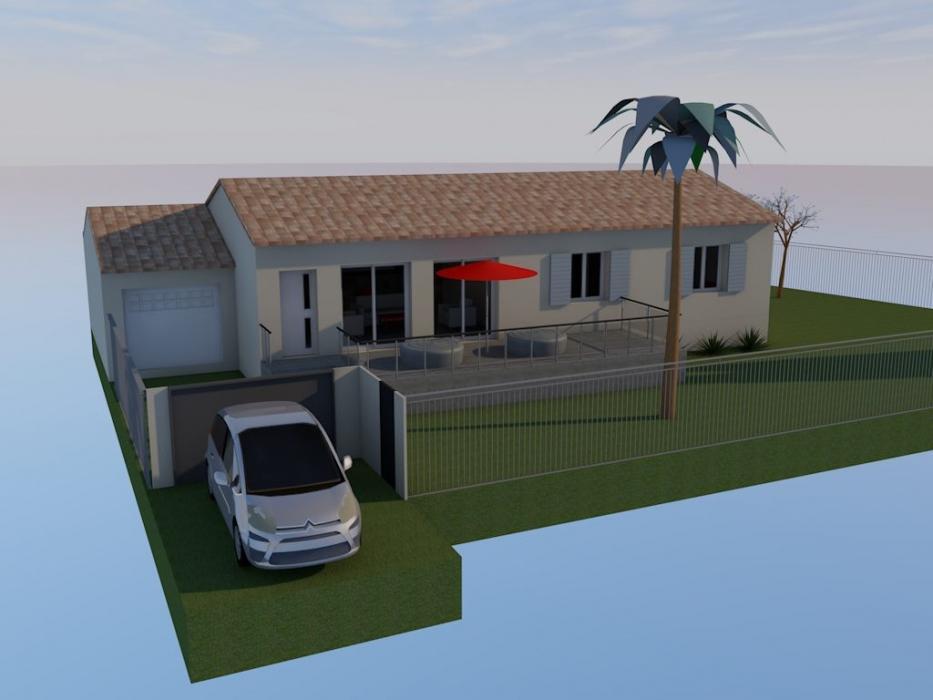 Vente Maison 4 pièces JONQUIERES SAINT VINCENT 30300
