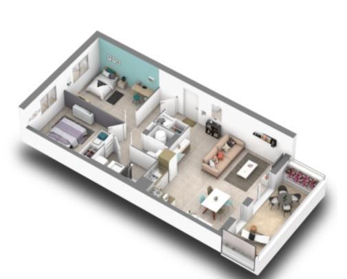 Vente Appartement 3 pièces BOMPAS 66430